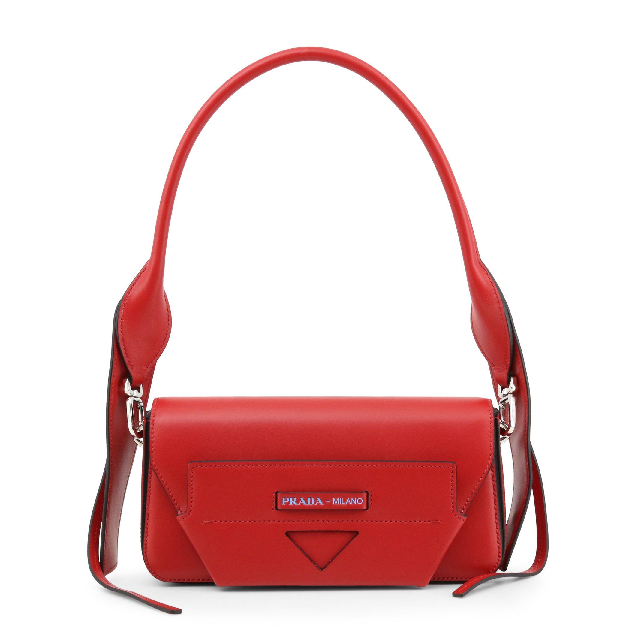 Prada Women's Shoulder Bag Blue 1BD166_CITY - red NOSIZE