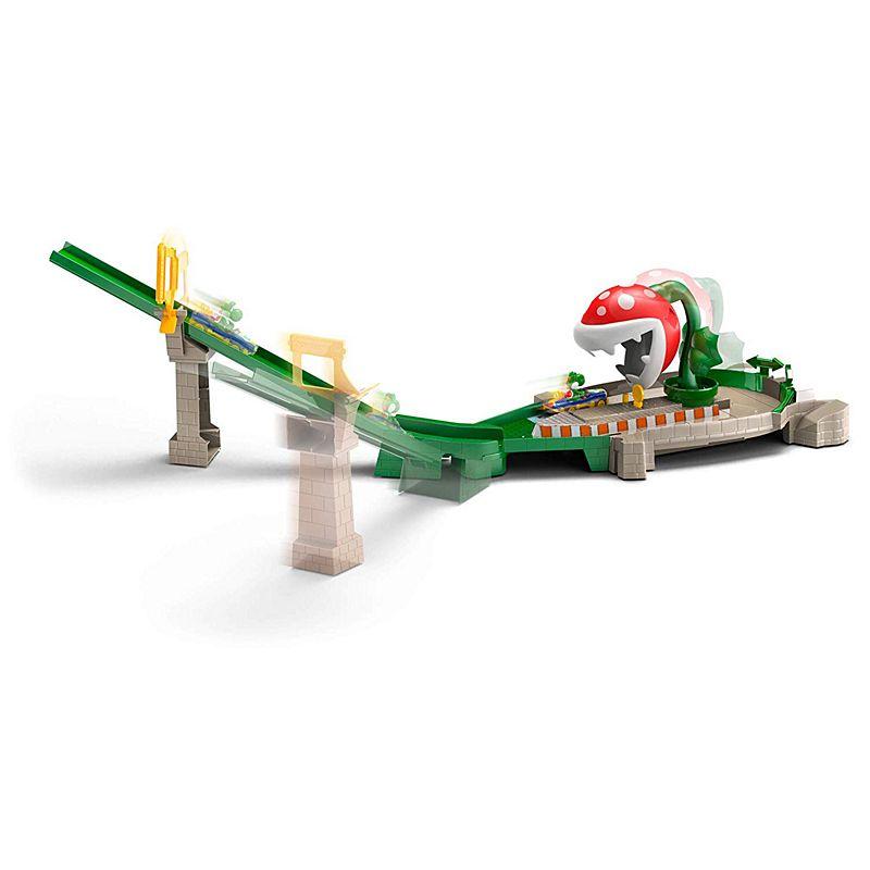 Hot Wheels - Mariokart Piranha Plant Slide Track set (GFY47)