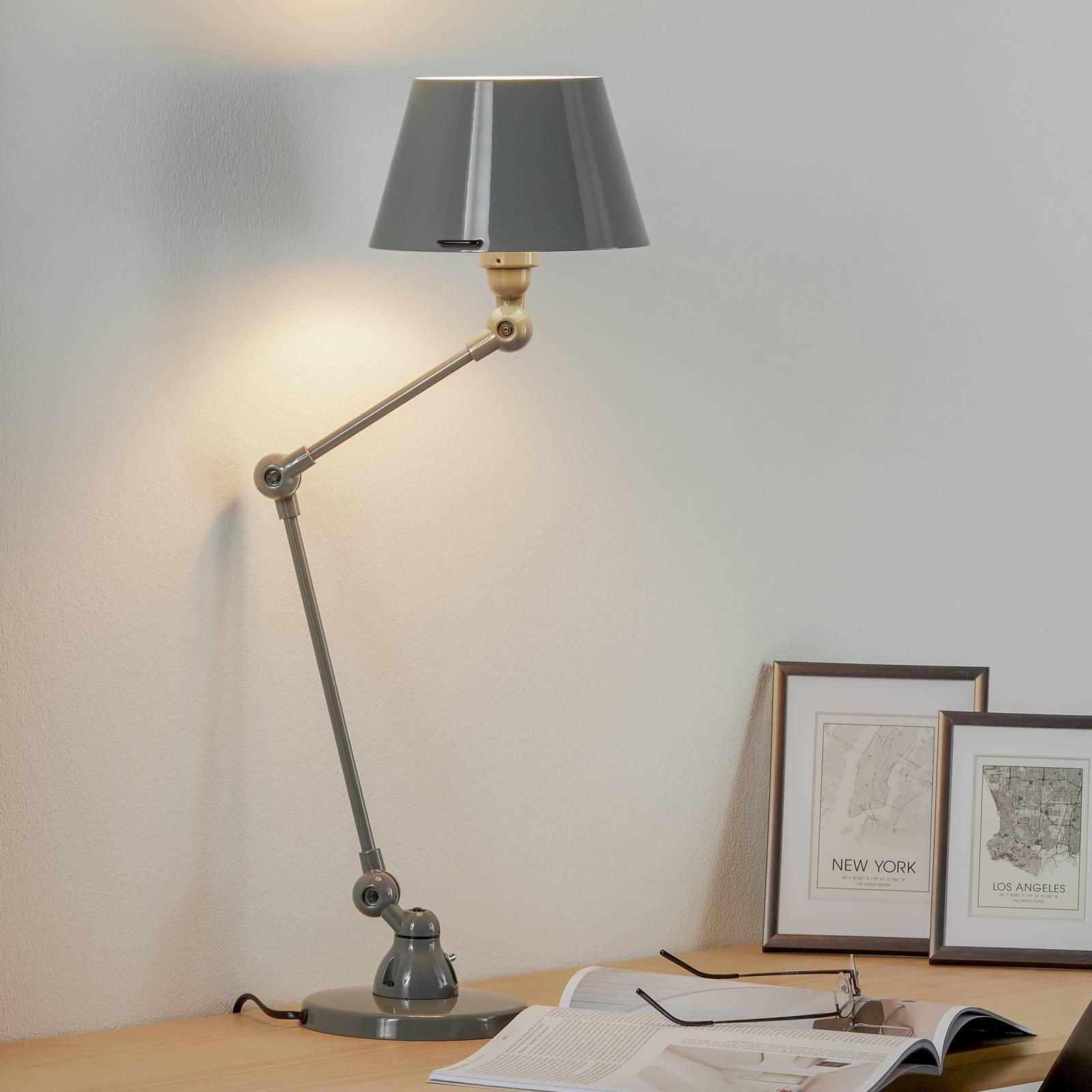 Jieldé Aicler AID373 bordlampe, grå