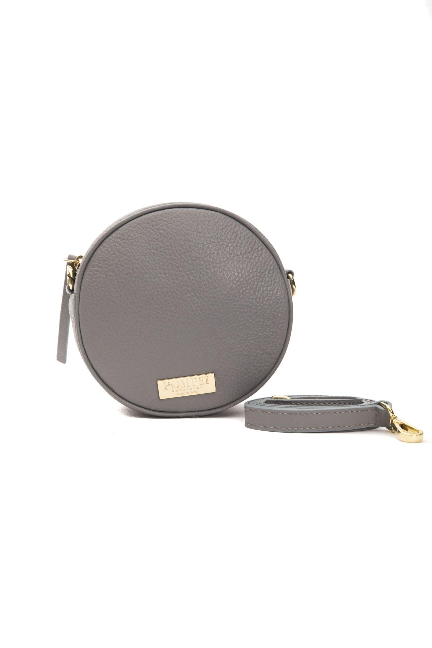 Pompei Donatella Women's Grigio Crossbody Bag Grey PO1004167
