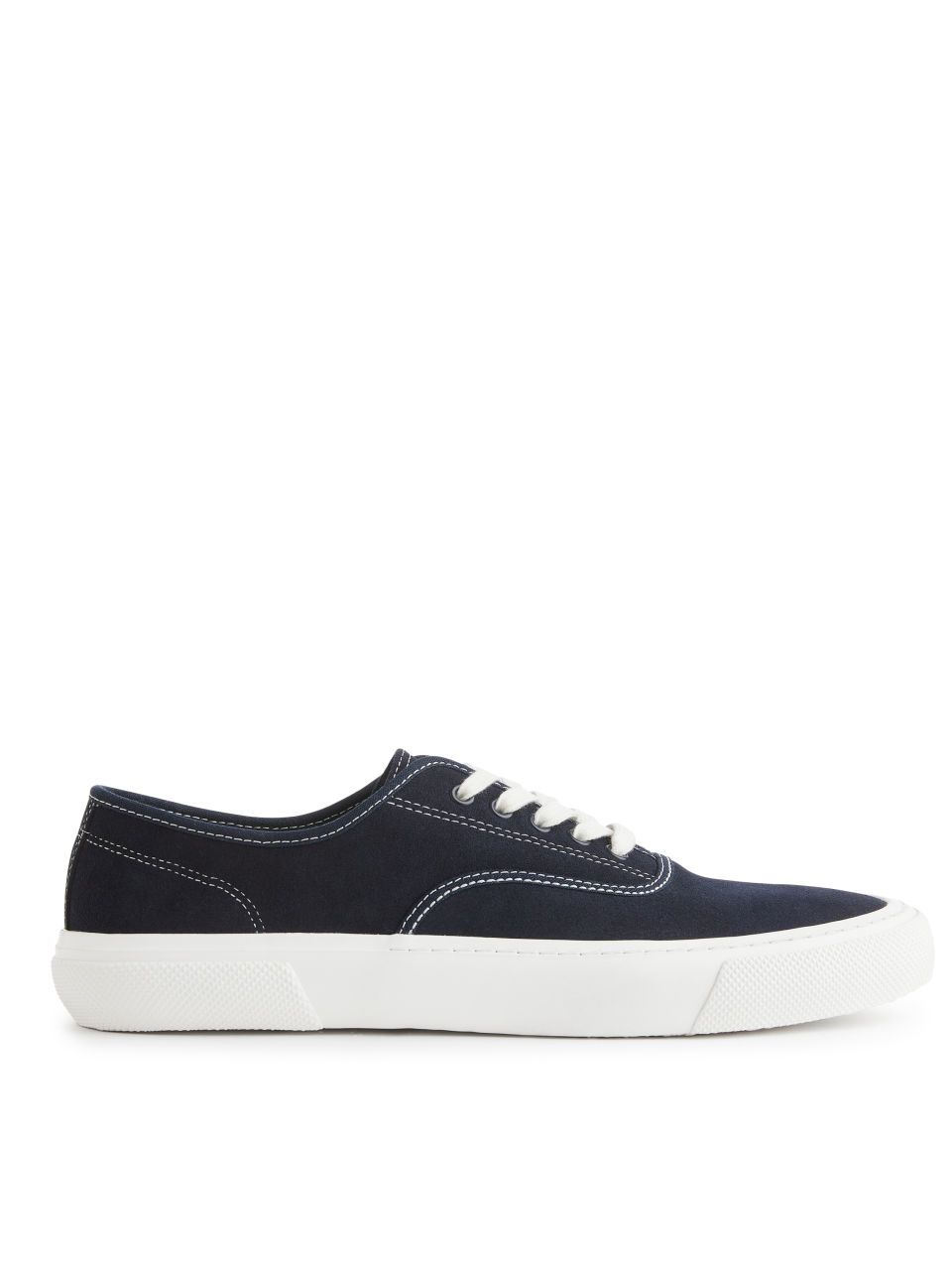 Suede Trainers - Blue