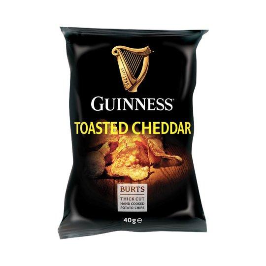 """Chips """"Toasted Cheddar"""" 40g - 54% rabatt"""