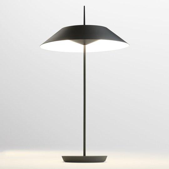 Vibia Mayfair LED-pöytälamppu, grafiitinharmaa