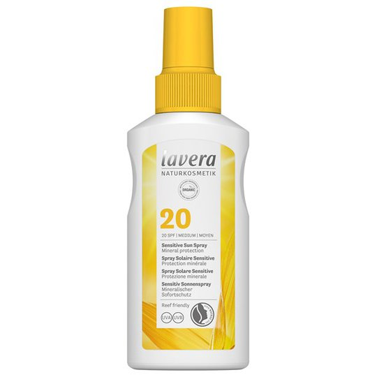 Lavera Sensitive Sun Spray SPF 20, 100 ml