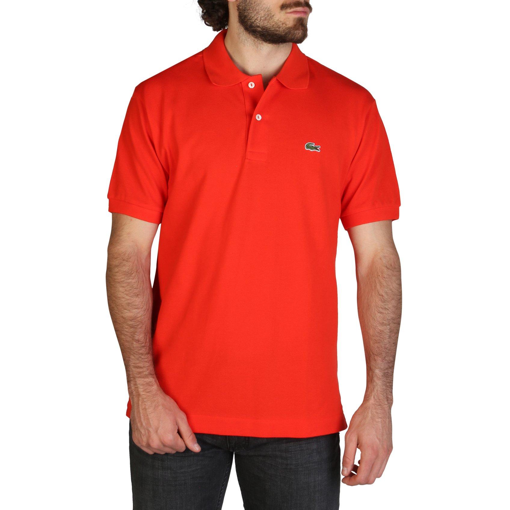 Lacoste Men's Polo Shirt Various Colours L1212_REGULAR - red S