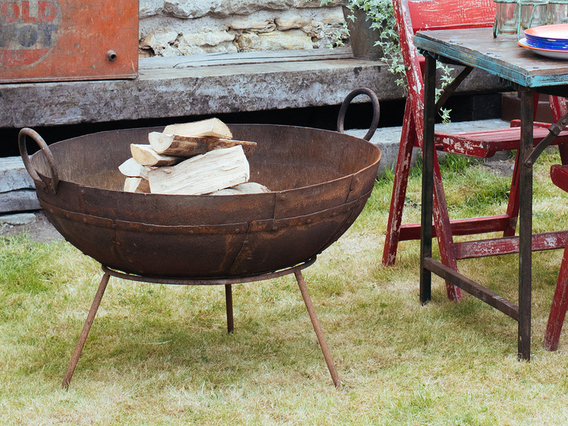 Kadai Fire Bowl - Large - 60-70CM Large