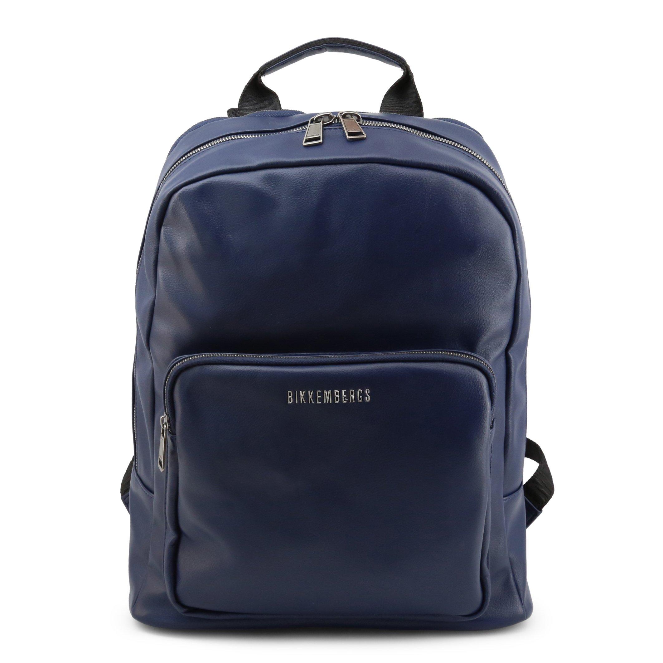 Bikkembergs Men's Backpack Various Colours E2APME210065 - blue NOSIZE