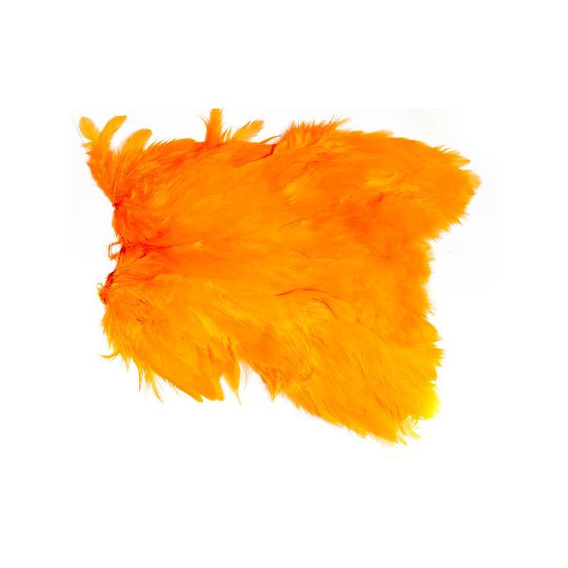 Softhackle patch Orange