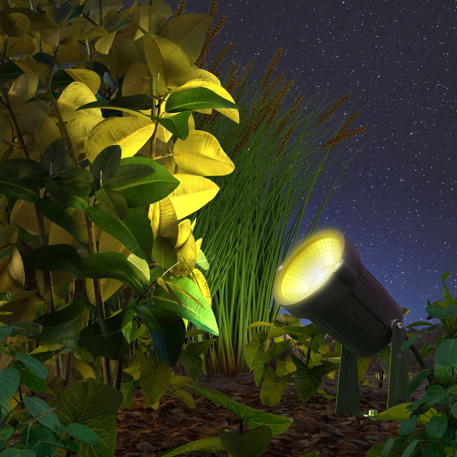Innr LED-ulkokohdevalo Smart Outdoor, 3 kpl
