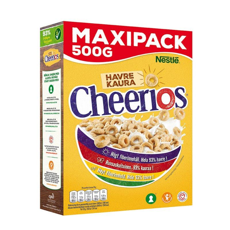 Cheerios Kaura 500g - 21% alennus