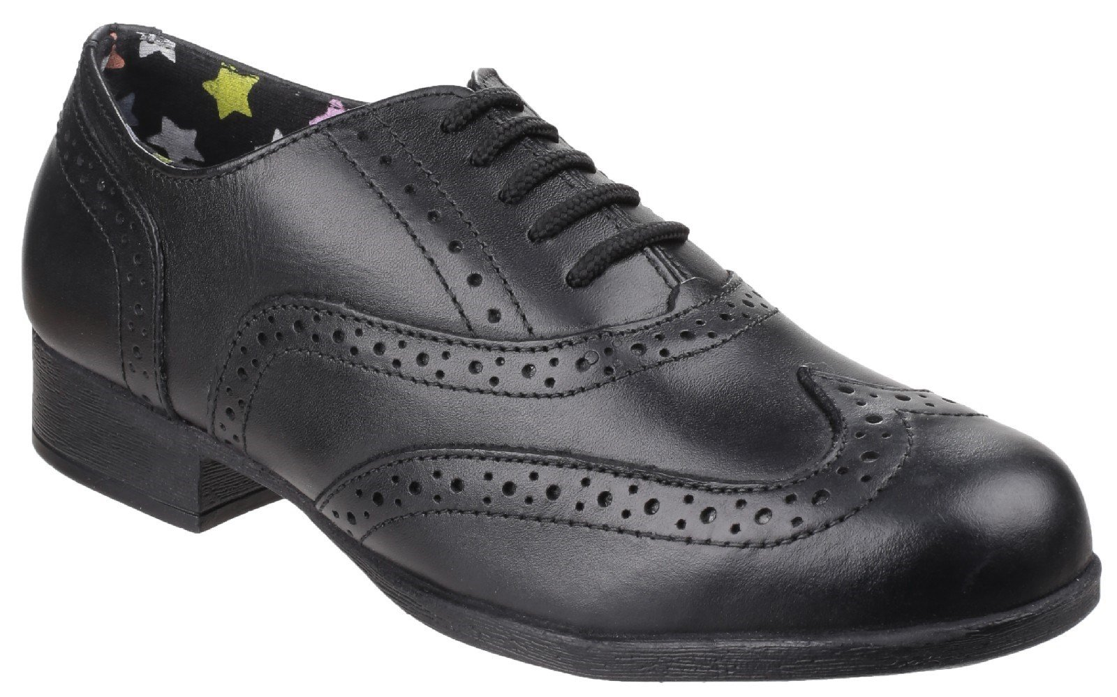 Hush Puppies Men's Kada Back To School Shoe Black 25336 - Black 13