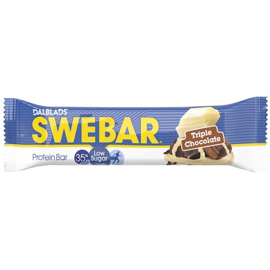"""Proteinbar """"Triple Chocolate"""" 50g - 44% rabatt"""