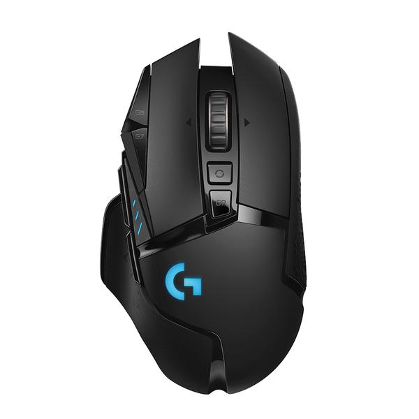 Logitech - G502 Wireless Lightspeed Black Gamer Mouse