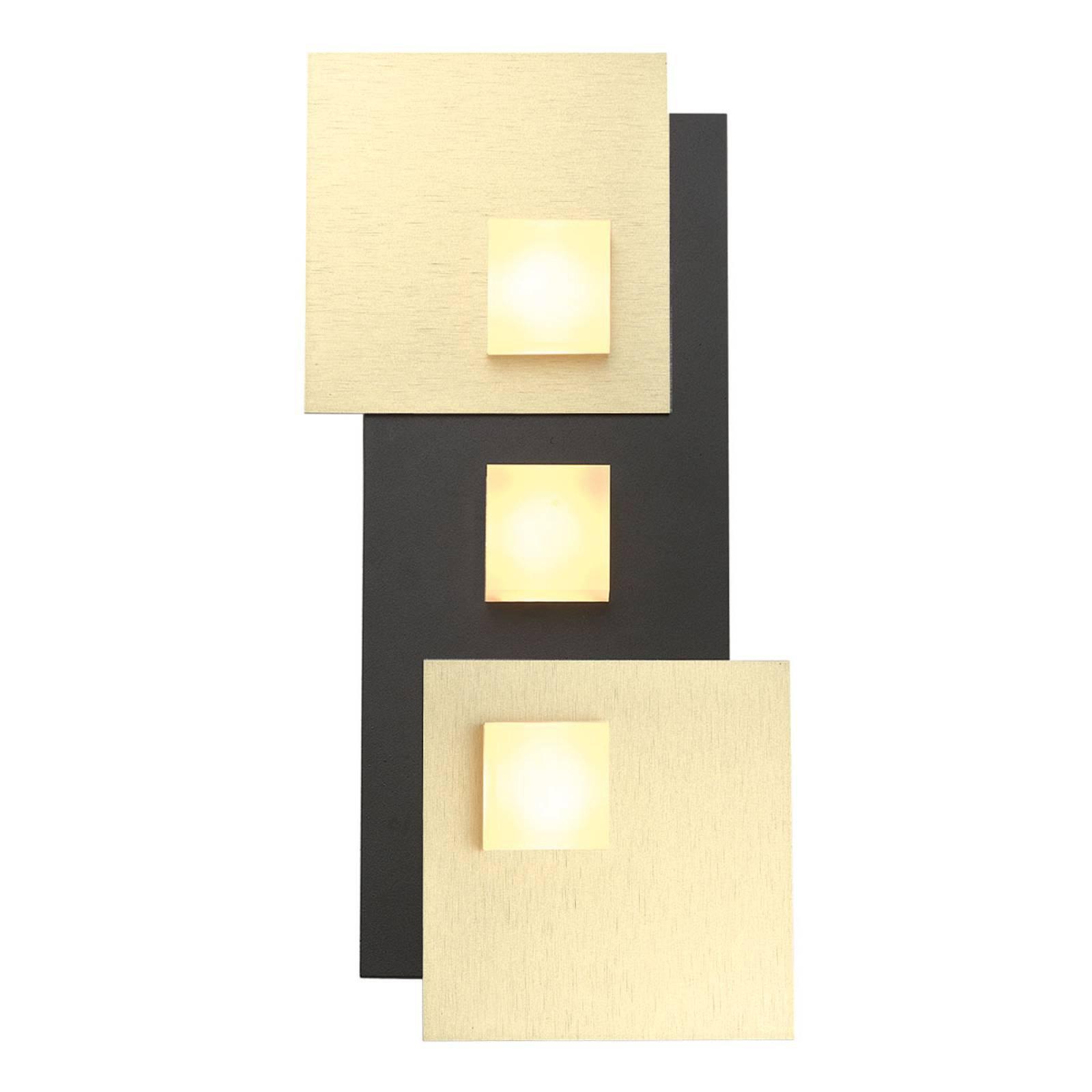 Bopp Pixel 3.0 LED-taklampe 2 lyskilder svart