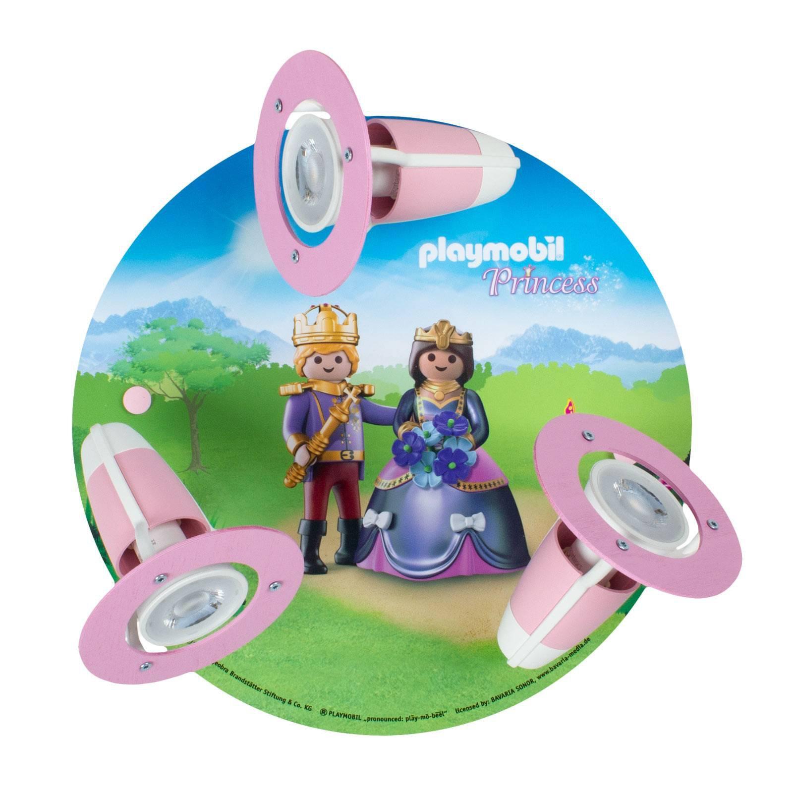 Taklampe 3 spotter PLAYMOBIL Princess