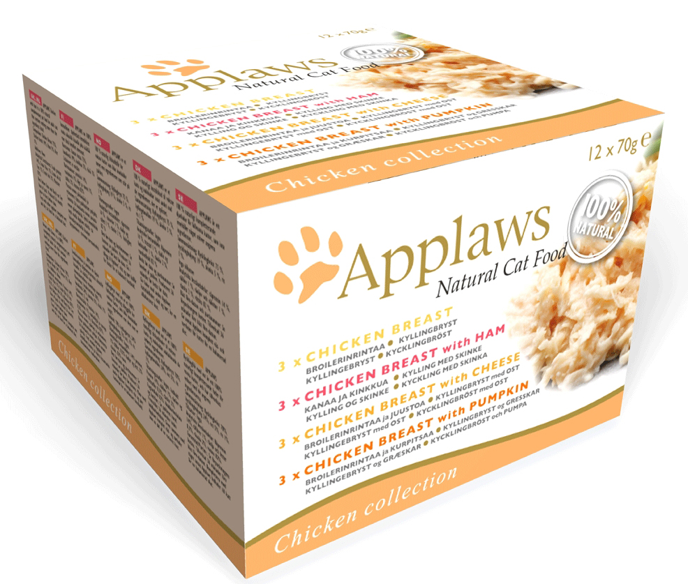Applaws collection chicken 12 x 70g