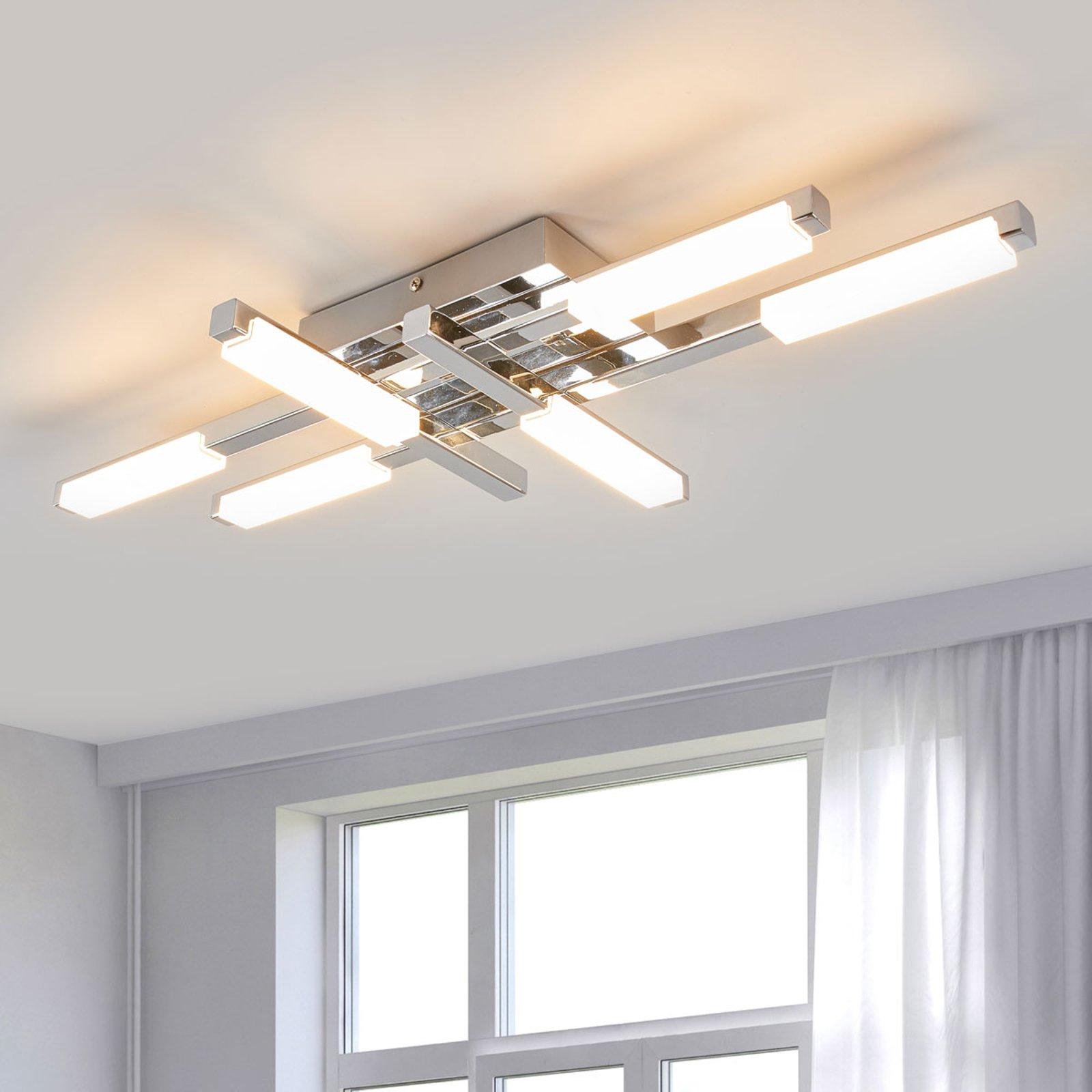 LED-taklampe Patrik med kraftig lys, IP44