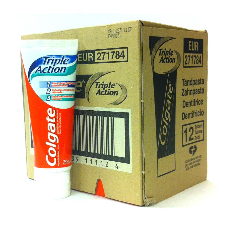 Colgate Triple Action Hel låda - 46% rabatt