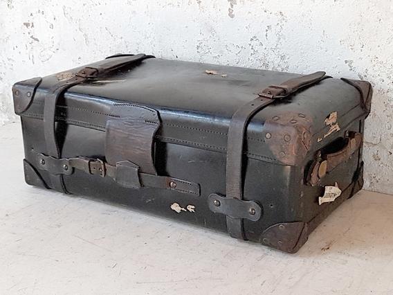 Antique Military Trunk - Captain Sir James Duncan Black