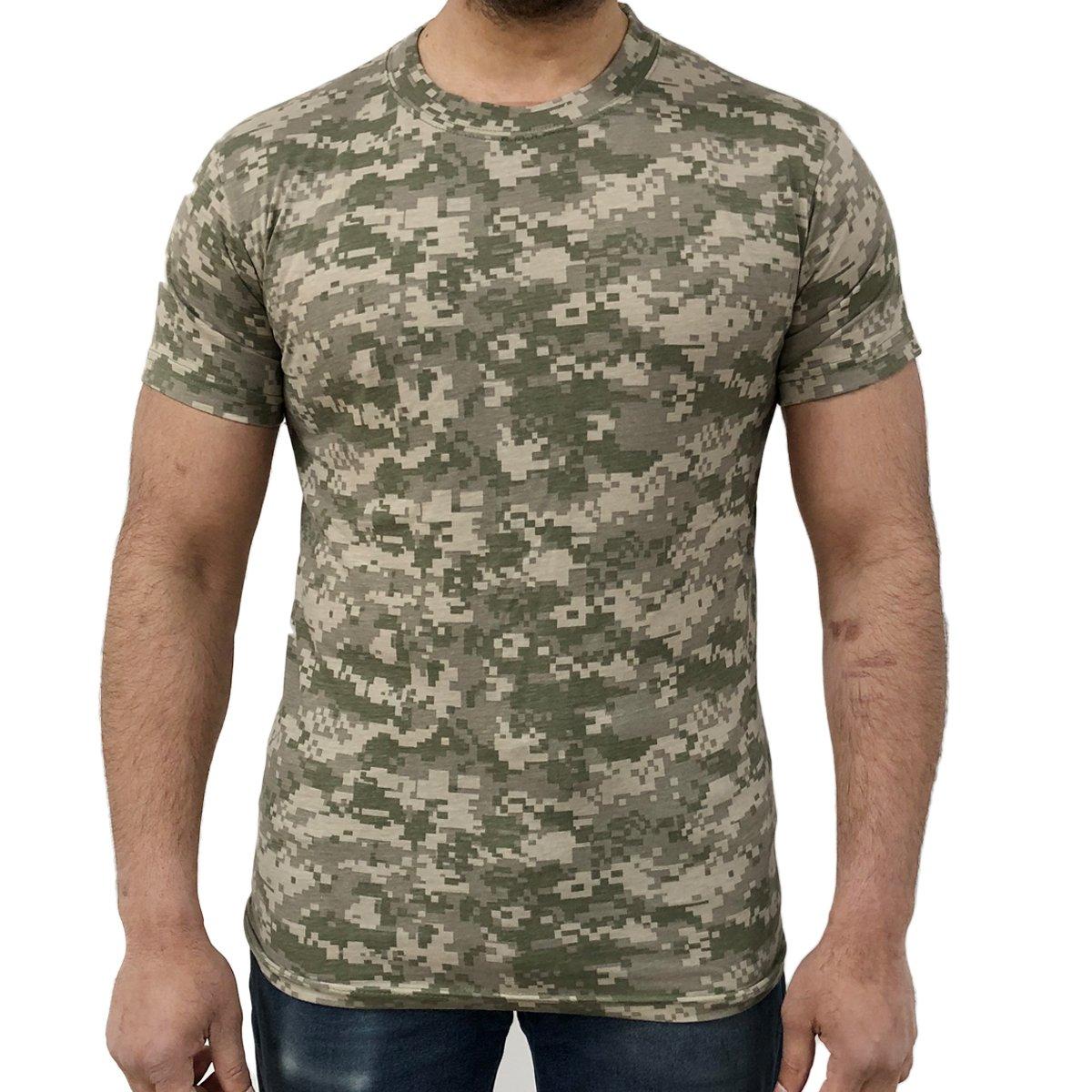 Game Digital Camouflage T-Shirts - Digital Desert S