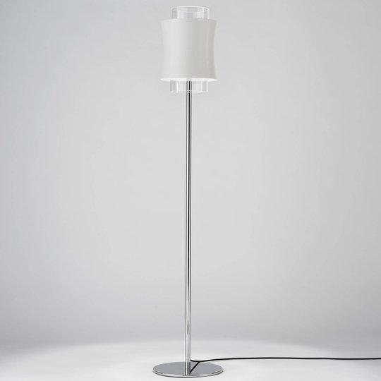 Prandina Fez F1 gulvlampe hvit matt