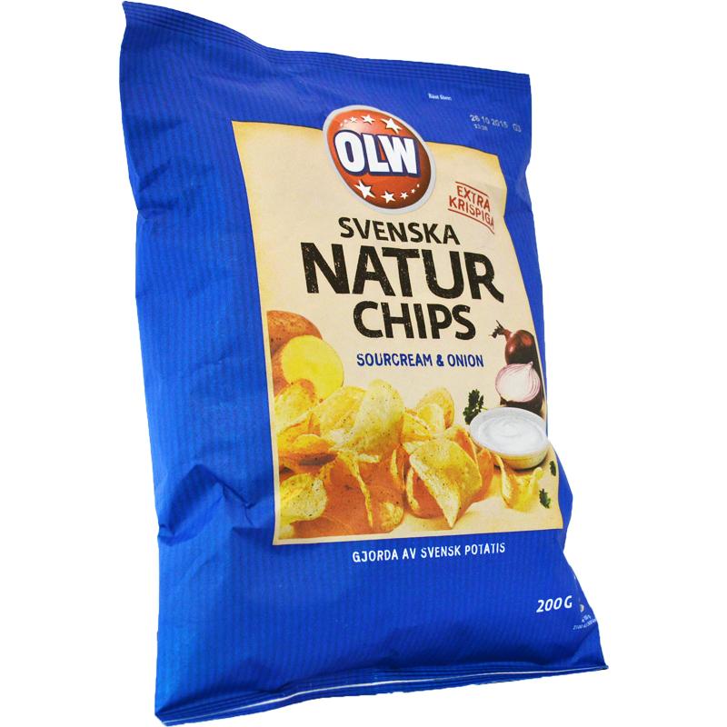 Naturchips sourcream & onion - 60% rabatt