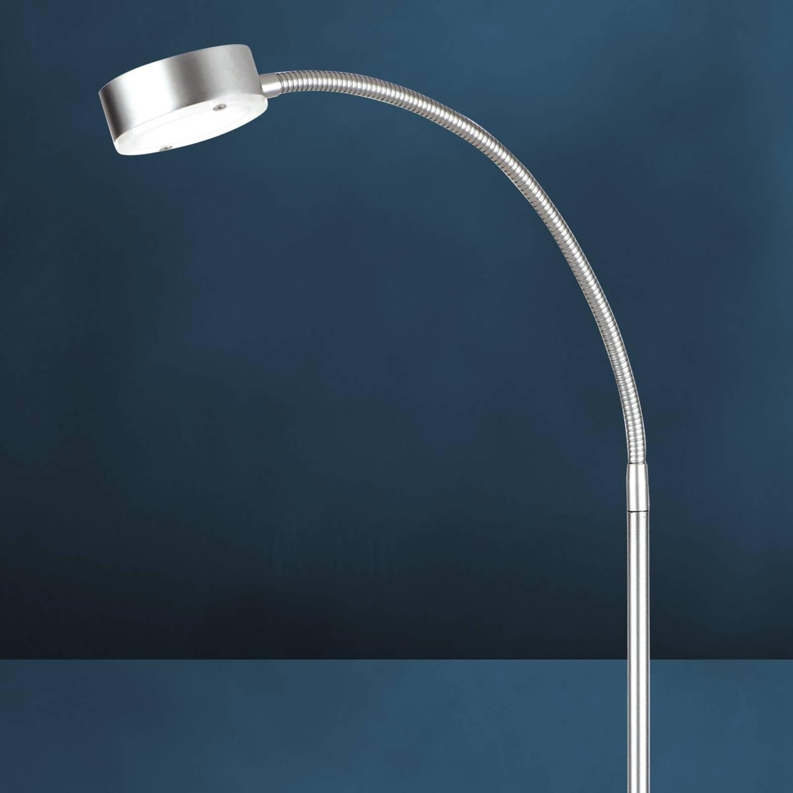 Joustava LED-lattiavalaisin SATURN, 1-lamppuinen