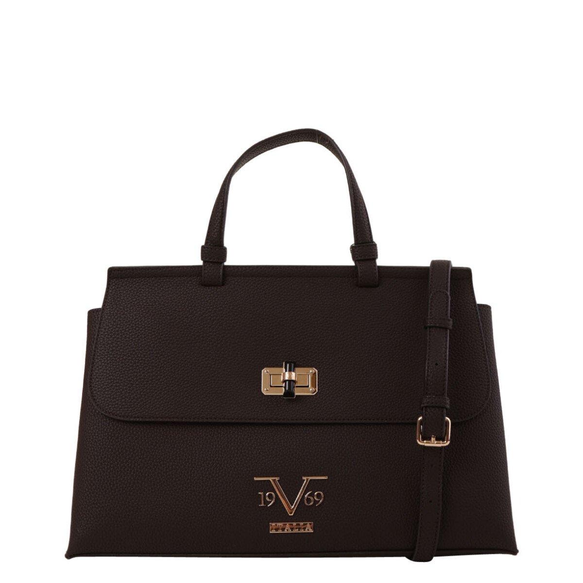 19v69 Italia Women's Handbag Various Colours 318989 - brown UNICA