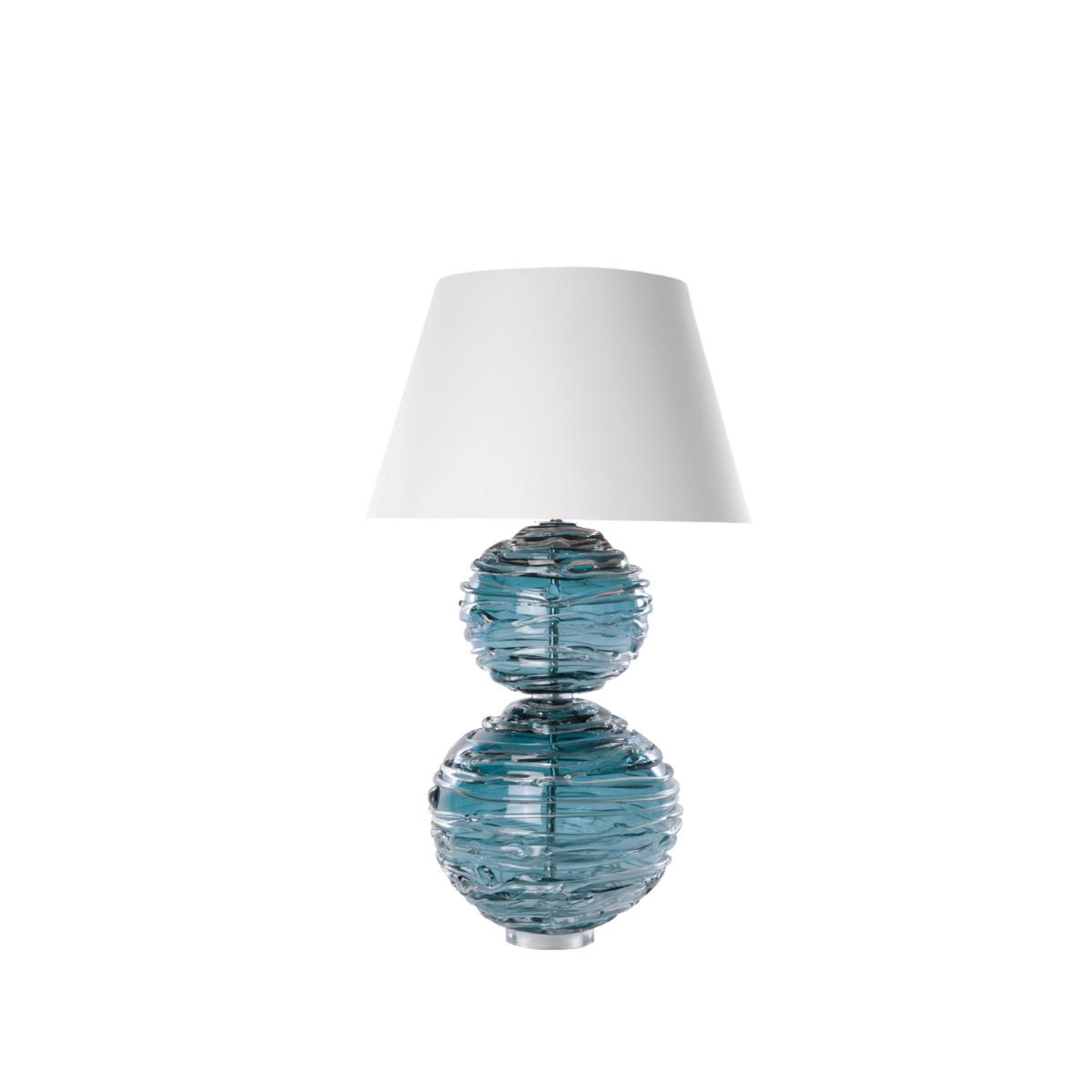 William Yeoward | Alfie Table Lamp Turquoise