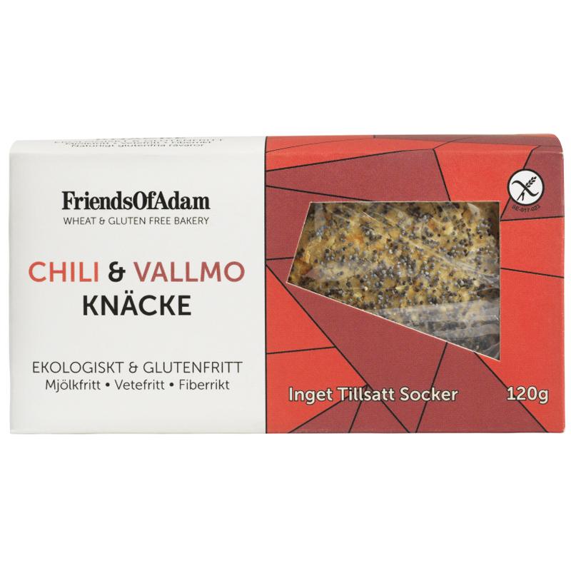 Eko Knäckebröd Chili & Vallmo 120g - 24% rabatt