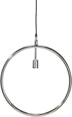 Circle taklampe Krom 45 cm