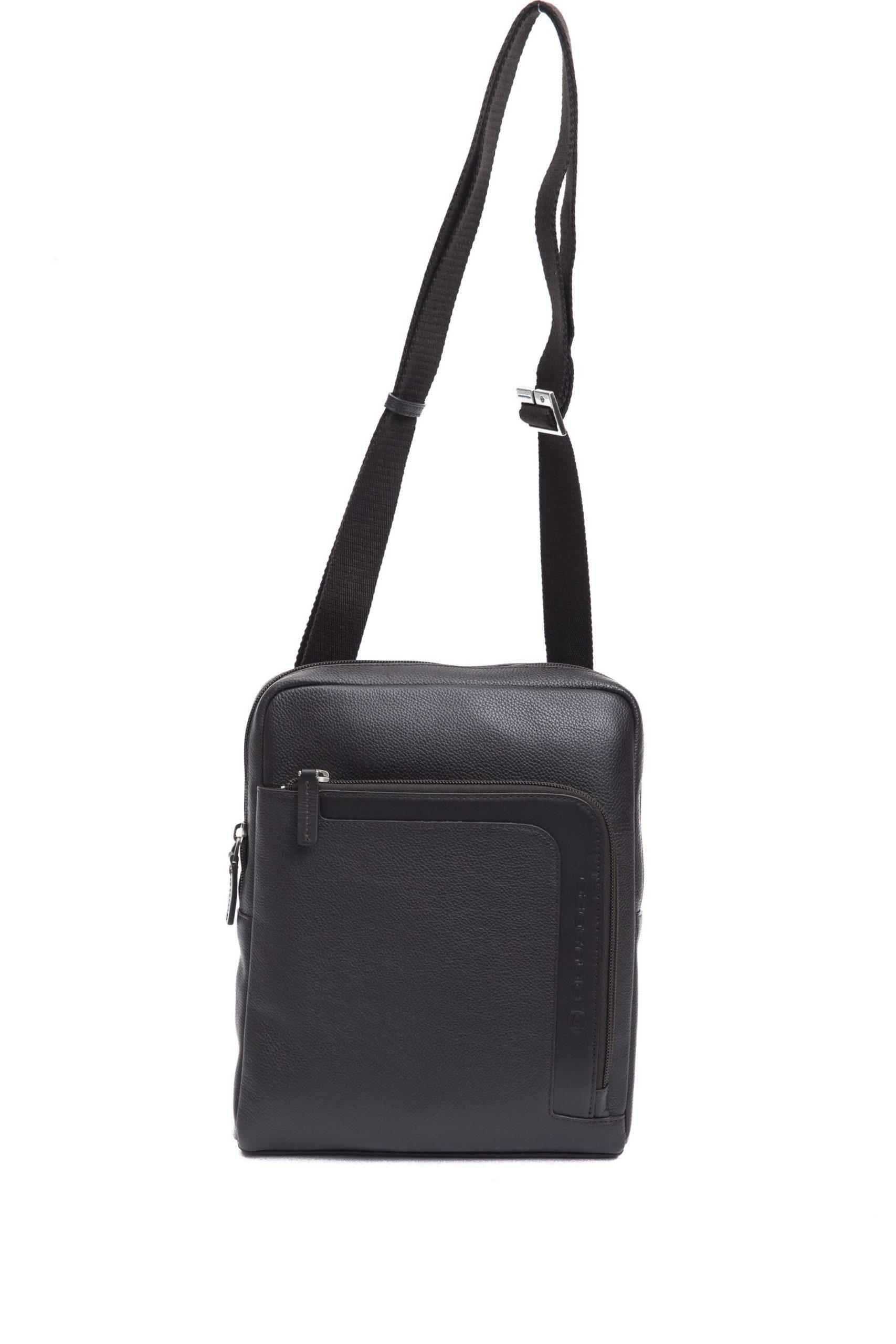 Piquadro Men's Marrone Messenger Bag Brown PI1270739