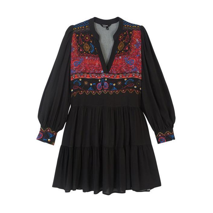 Desigual - Desigual Women Dress - black M