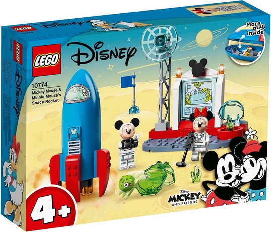 LEGO Mickey and Friends 10774 Romraketten til Minni Mus og Mikke Mus