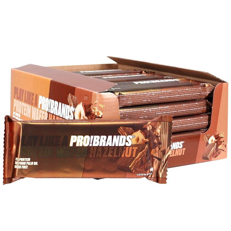 Proteiinikeksit Suklaa & Hasselpähkinä 20kpl - 64% alennus