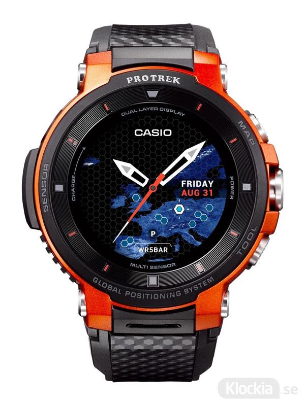 CASIO Pro Trek Smart Watch WSD-F30-RGBAE