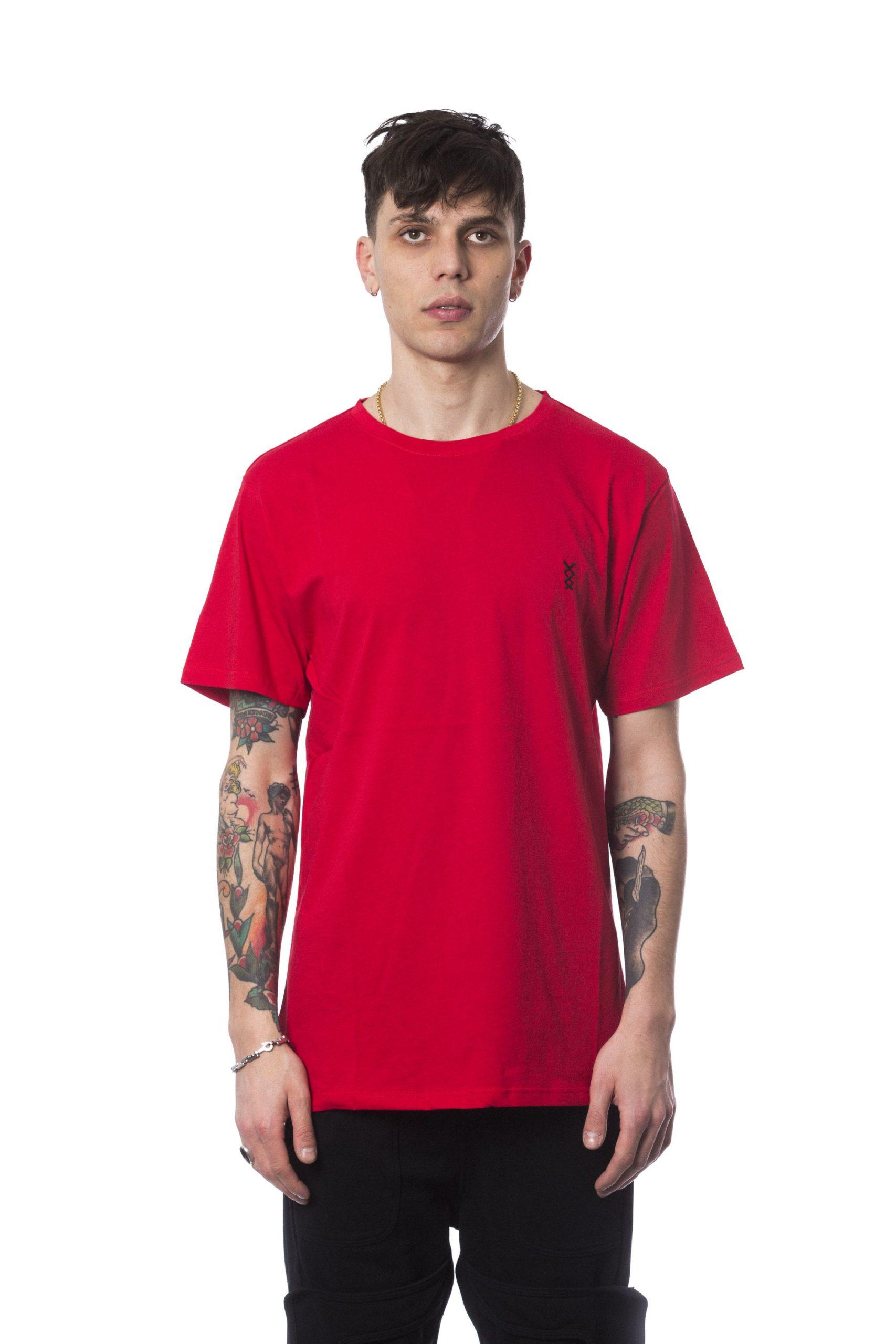 Nicolo Tonetto Men's Rosso T-Shirt Red NI681751 - S