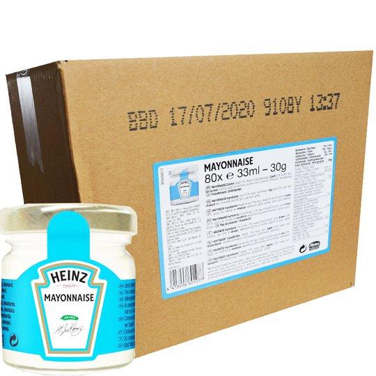 Hel Låda Majonnäs Portionsförpackningar 80 x 33ml - 75% rabatt