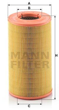 Ilmansuodatin MANN-FILTER C 14 176