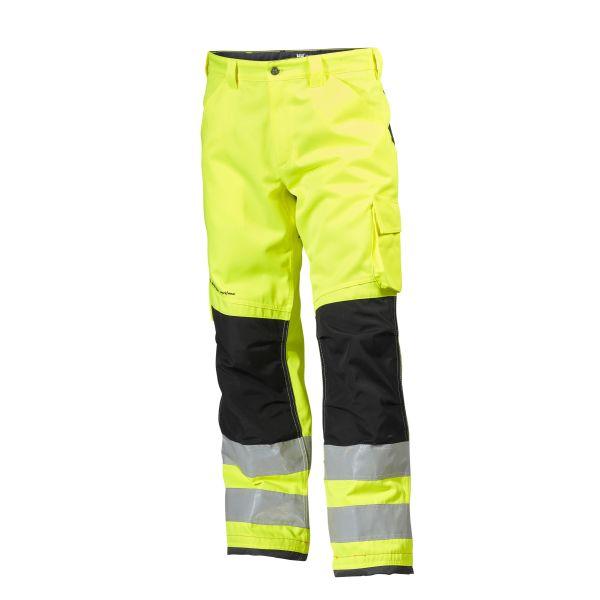 Helly Hansen Workwear Alna Työhousut huomioväri, keltainen/musta C52