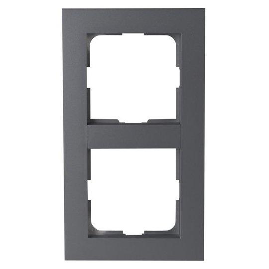 Elko Plus Yhdistelmäkehys alumiini 2-paikkainen