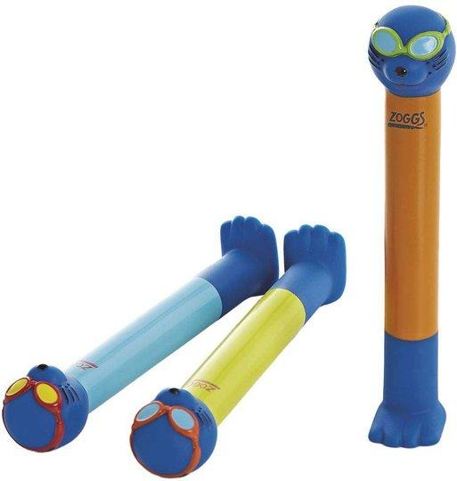 Zoggs Dykkepinner 3-pack