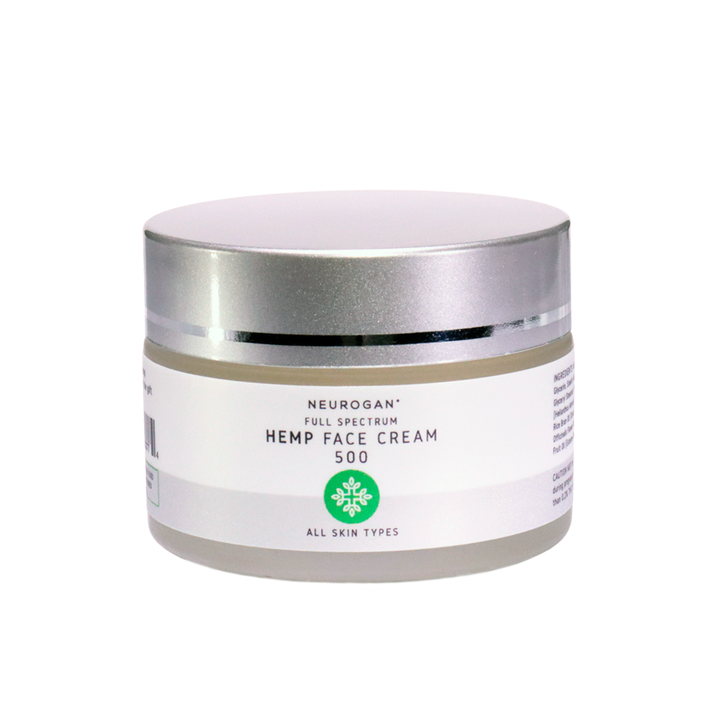 Neurogan - CBD 24 Hours Face Cream Nourishing & Moisturizing 500 mg 60 ml