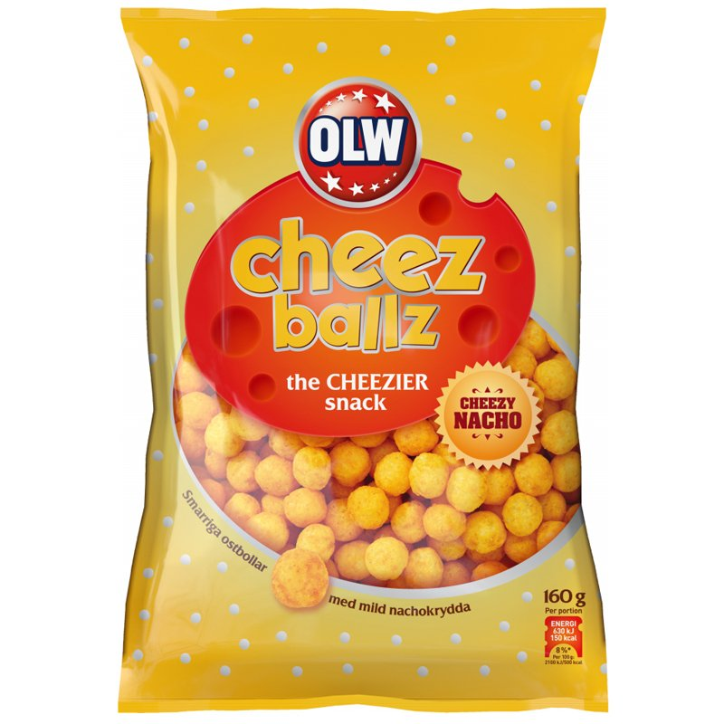 Cheez Ballz - 15% rabatt