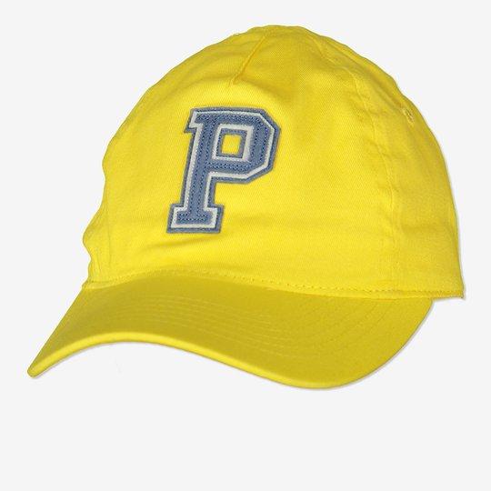 Caps med p-applikasjon gul