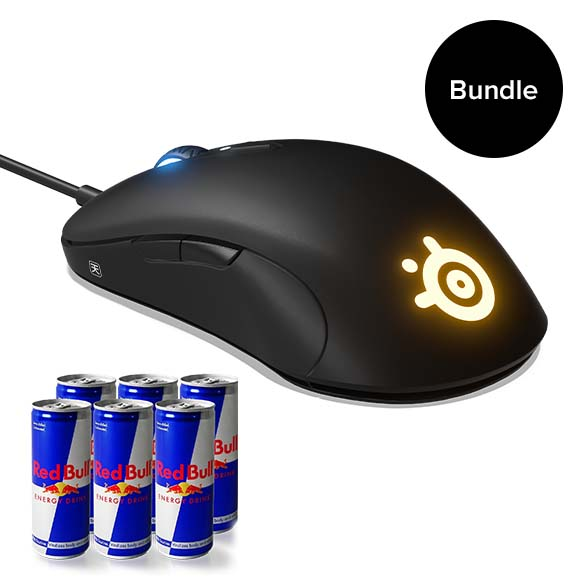 SteelSeries - Sensei Optical Gaming Mouse + Limited Redbull Bundle