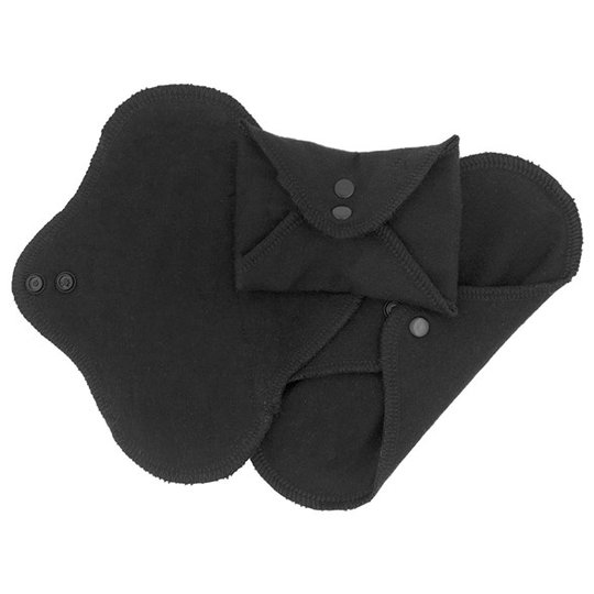 ImseVimse Ekologiska Trosskydd Classic - Black, 3-pack
