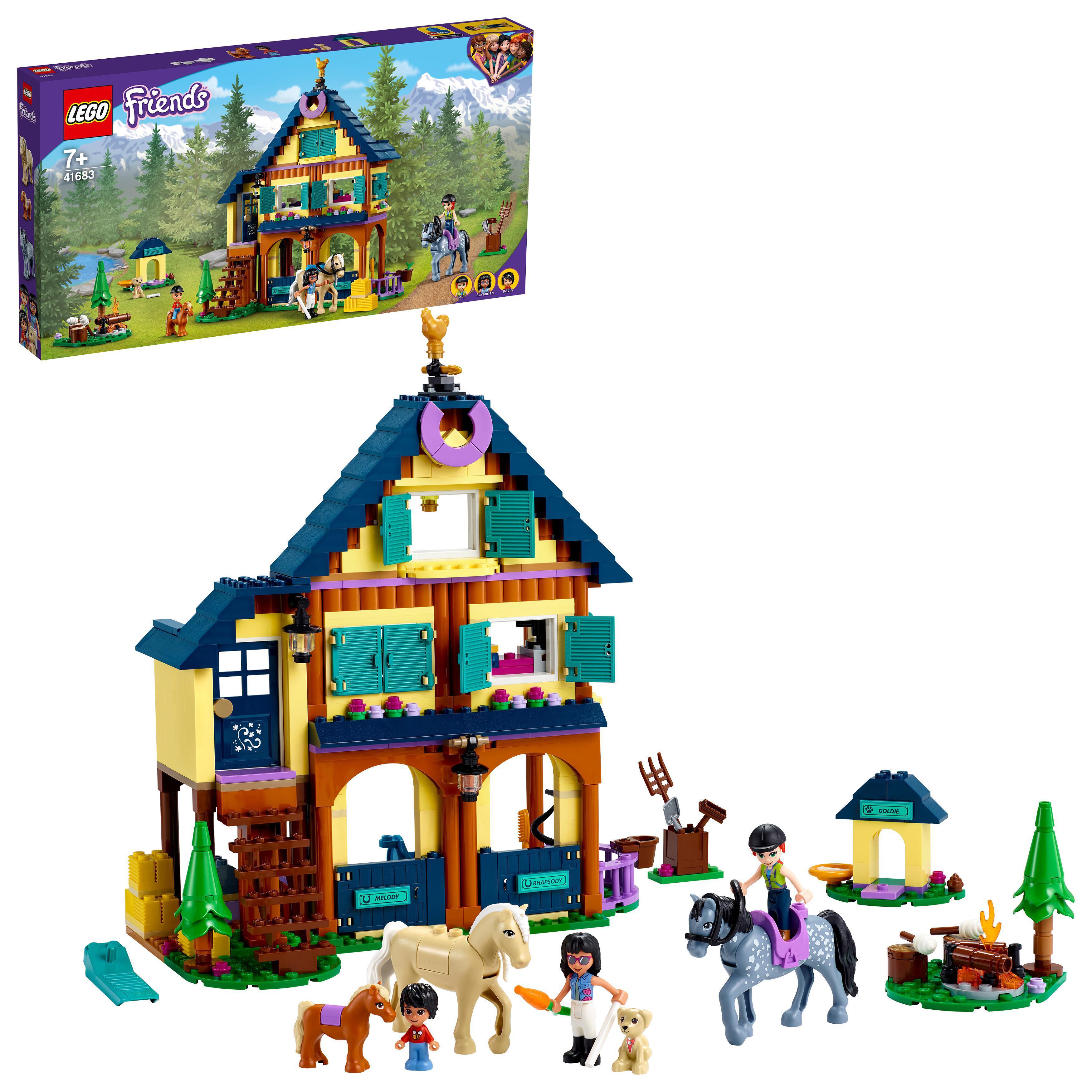 LEGO Friends - Forest Horseback Riding Center (41683)