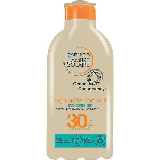 Ambre Solaire High Protection Milk Eco-Designed, 200 ml Garnier Aurinkosuojat