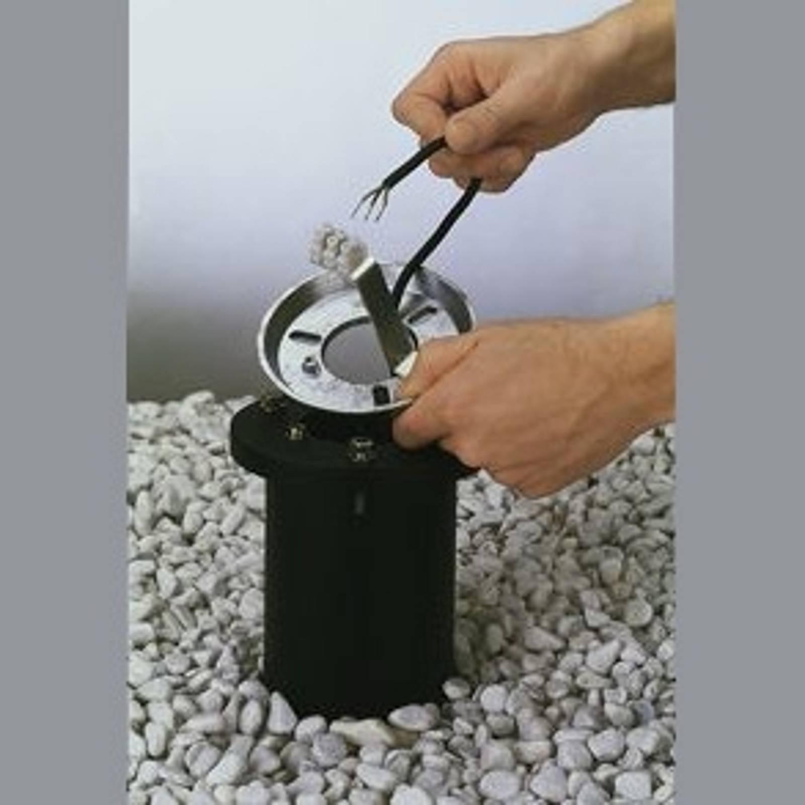 Asennusjalusta alumiinivalua, asennussyvyys 40 cm